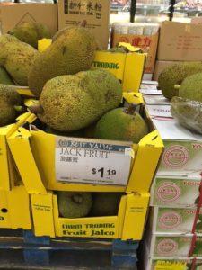 珍しい果物もあった。